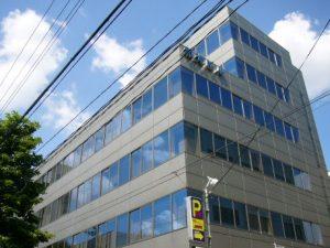 大阪市の会計事務所ビル外観